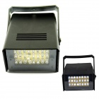 5W 24-LED White Light Flash Party Disco Mini Strobe stage Light - Black (90~240V)