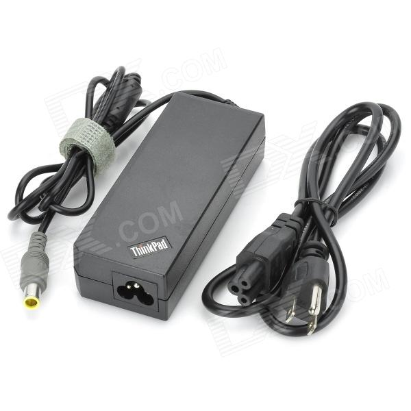 90W 4.5A 20V Replacement Laptop AC Power Adapter for IBM Thinkpad Lenovo T61/T410/E40 - Black 20v 4 5a 90w adlx90ndc2a 36200285 45n0243 45n0244 laptop ac adapter for lenovo thinkpad x1 carbon series touch ultrabook