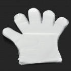 RM RM-01004 Multifunction Disposable Healthy PE Gloves for Women - White (50 PCS / M)