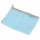 Multi-Purpose Travel Nylon Storage Bag - Blue + White (3 PCS)