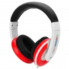 Ditmo DM-2900 Stereo Headset Headphone - White + Black + Red