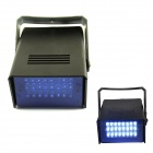 XL-16B 5W 480nm 24-LED Blue Light Flash Party Disco Mini Strobe stage Light - Black (90~240V)