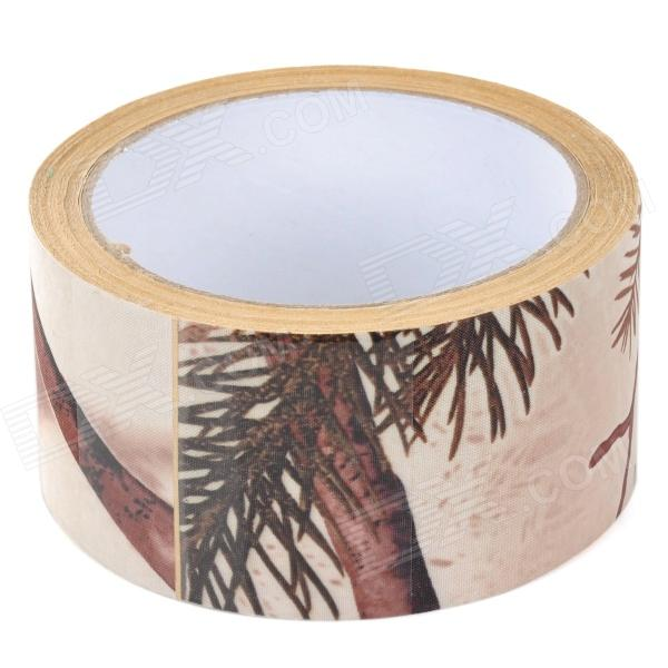 Simulate Tree Hunting Adhesive Duct Tape Bandage - Camouflage