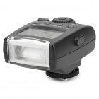 "MEIKE MK-300-C 6W 300lm 5600K 1.8"" LCD 3-Mode Speedlight Flash for Canon 100D / 650D + More - Black"