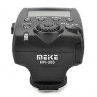 "MEIKE MK-300 6W 300lm 5600K 1.8"" LCD 3-Mode Speedlight Flash for Canon 100D / 650D + More - Black"