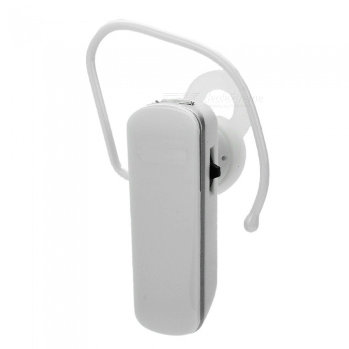 Bluetooth V3.0+EDR Stereo Music Headset - White + Silver