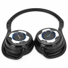 Biuetooth V3.0+EDR Stereo Headphone w/ Handsfree / MP3 Function - Black + Silver
