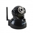 CHEERLINK IPA01-308NP 1/5 CMOS 0.3 MP 350' Rotating Network Surveillance Camera w/ 11-IR LED - Black