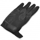 SCOYCO MC24 Shock Resistant Padded Full Finger Cycling Gloves for Motorcycle - Black (1 Pair / L)