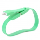 SW-8-Handgelenk-Band-Stil USB 2.0 Male Lightning Data Sync & Ladekabel für iPhone 5 (27,3 cm)