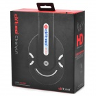 Ditmo DM-2800 Stereo Headset Headphone - Black + Silver + Red