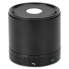 788S Mini Bluetooth V3.0 Speaker w/ Microphone - Black + Silver