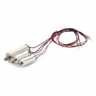 Man Tail Motor Spare Parts for V911 RC Helicopter Toy - Black + Silver + Red (3 PCS)