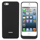 2600mAh Rechargeable Power Battery Pack for iPhone 5 - Black