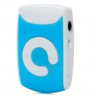 KD-MP3-06-WUPING-LVSE Mini Portable TF Card MP3 Music Player - Blue + White (16GB Max.)