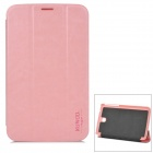 Stylish Protective PU Leather Case for Samsung Galaxy Tab 3 7.0 P3200 - Pink