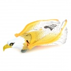 Electric Eagle Hovering Toy w/ Voice Flashing Light - Yellow (2 x AA)