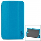 Stylish Protective PU Leather Case for Samsung Galaxy Tab 3 7.0 P3200 - Blue