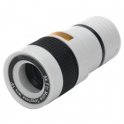 Detachable 16 Degree View Angle 8X Telescope for Mobile Phones - White + Black