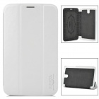 Protective PU Leather Case for  Galaxy Tab 3 7.0 P3200 - White