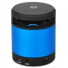 N10 Hands-Waving Recognition Bluetooth V3.0 Speaker w/ Microphone / TF Card Slot - Blue + Black