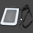Universal IPX8 Waterproof Protective Mobile Phone Bag - White + Black
