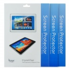 Protective Matte Screen Guard for Samsung Galaxy Tab 3 (GT-P5200) - Transparent (3PCS)