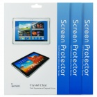Protective Glossy Screen Guard for Samsung Galaxy Tab 3 (GT-P5200) - Transparent (3PCS)
