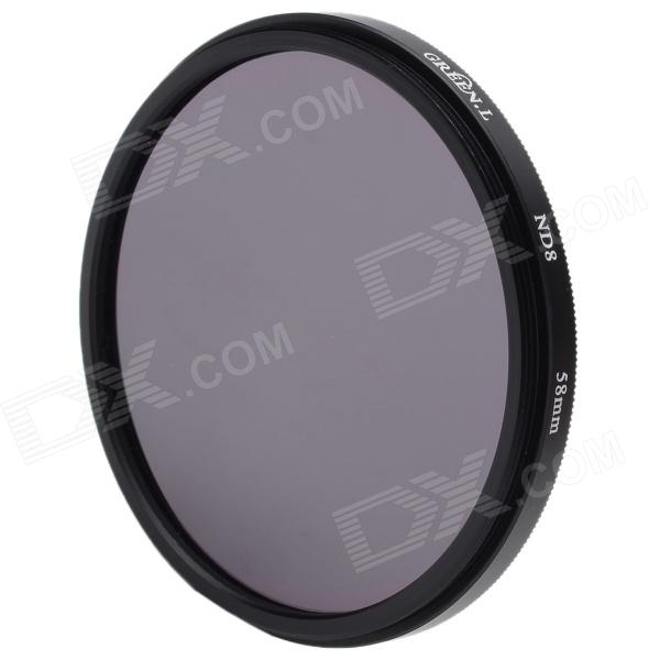 Premium ND8 Camera Lens Filter (58mm) premium cpl camera lens filter 58mm