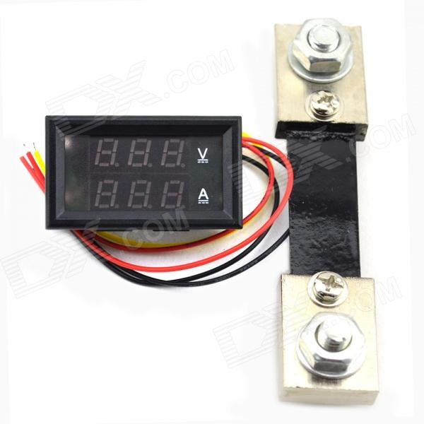 MiNi 0-100V/100A Digital DC Voltage Current Meter