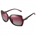 Reedoon 30137 UV400 Protection Resin Lens Polarized Sunglasses for Women - Purple