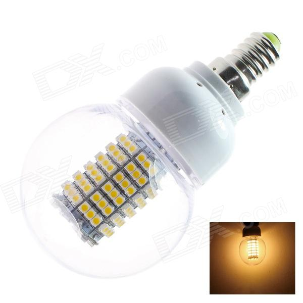 GCD Q7 E14 7W 227.5lm 2812K 138-SMD 3528 LED Warm White Energy Saving Light Bulb (AC 220~240V) vivitek qumi q7 white мультимедийный led проектор