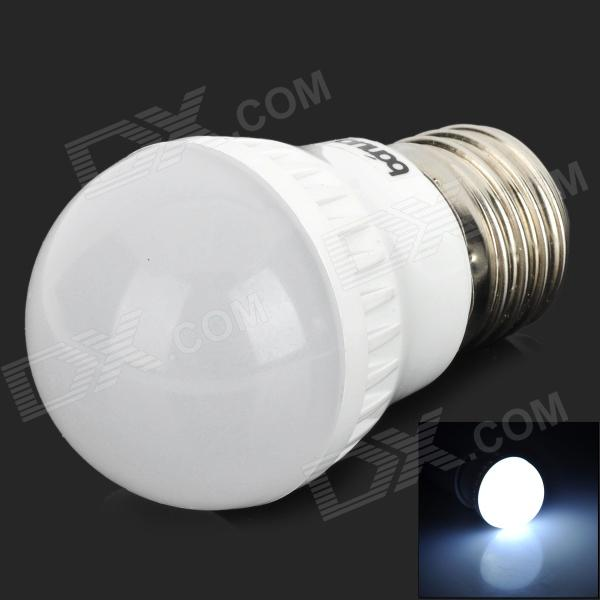 JZ E27 2W 90lm 6500K 10-2835 SMD LED White Light Bulb - White (220V)