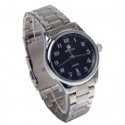 ORKINA P0032 Fashionable Stainless Steel Men's Quartz Analog Wrist Watch w/ Calendar - Silver+ Black