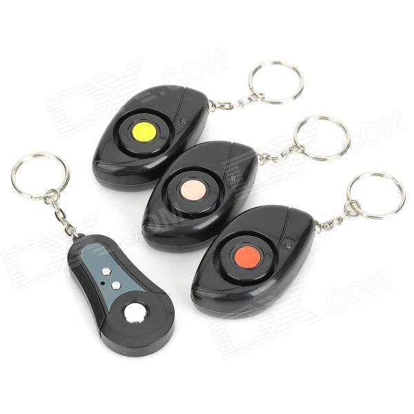 1-to-3 Mini Wireless Electronic RF Key Finder Set - Black 1 to 4 electronic wireless key finder keychains set black 2 x cr2032 batteries