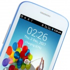 "9500 Android 2.3.6 GSM Bar Phone w/ 4.0"" Capacitive Screen, Quad-Band, FM and Wi-Fi - White + Blue"