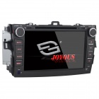 "Joyous J-8612MX 8"" Toyota Corolla 2 Din DVD Player w/ GPS, Analog TV, IPOD, Bluetooth and FM / AM"