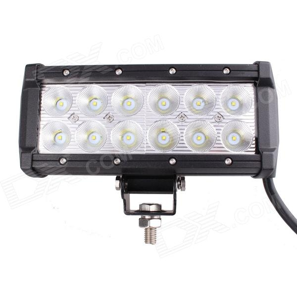 60' Flood Beam 36W 2520lm Working Light Bar / Daytime Running / Off-Road Lamp w/ 12 x Cree XB-D бита stayer profi 26221 2 25 50