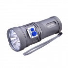 FandyFire YL-U2 3 x Cree XM-L U2 2000lm 5-Mode Cool White Flashlight w/ Strap - Grey (3 x 18650)