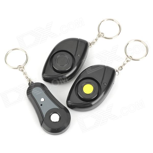 XYT-F02 Electronic Key Transmitter w/ Receivers Finder - Black (1 x 3 PCS) electronic remote rf wireless key finder w 4 receivers black 1 x cr2032