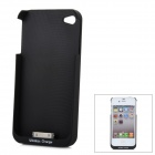 Qisan Wireless Charging Case for iPhone 4 / 4S - Black