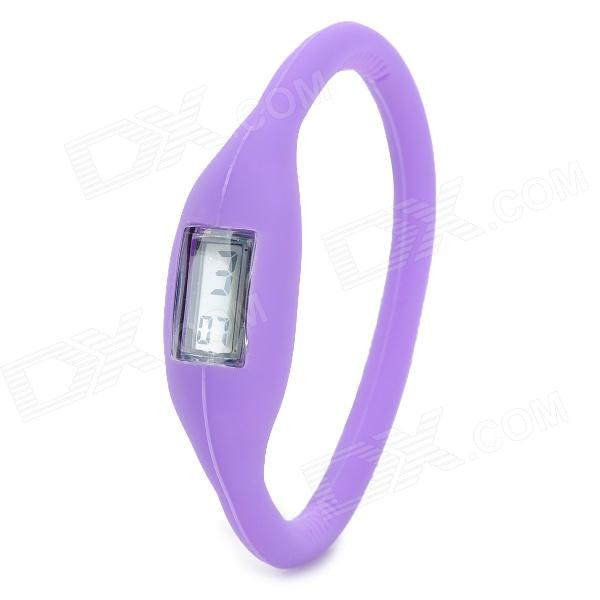 Stylish Ultra-Light Ionizer Digital Sports Wrist Watch - Purple (1 x 377) atlas mavros ultra digital 1 5m