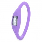 Stylish Ultra-Light Ionizer Digital Sports Wrist Watch - Purple (1 x 377)