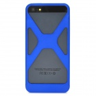 Cool Protective Aluminum Alloy Back Cover Case for Iphone 5 - Blue