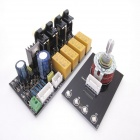 Full Assembled XD 4-Channel Stereo Audio Signal Choose Select Board - Black (AC 12~24V)