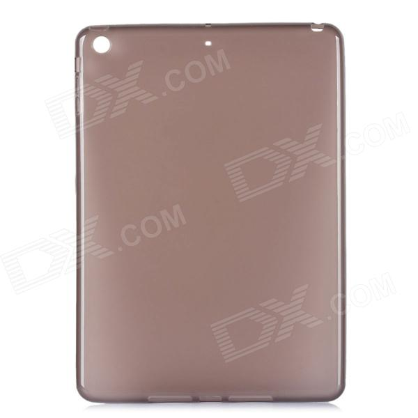 Ultrathin Protective Frosted TPU Back Case for Ipad 5 - Translucent Grey