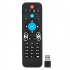 VMX1 Multi-Functional 2.4GHz Wireless 6-Axis 34-Key Somatosensory Remote Air Mouse - Black
