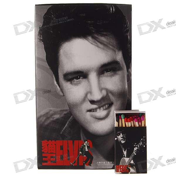 Elvis Aron Presley Series Match Sticks (10-Box Pack)