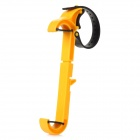 Retractable Car Mount Holder for Iphone 4S / 5 / Samsung i9300 - Yellow + Black