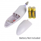 AE-831 Mini-em-1 Portátil Electric Nail Care / Art Set Tool - Light Purple (2 x AA)